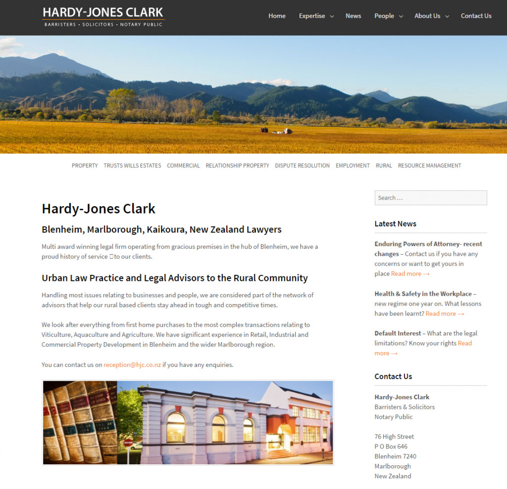 Hardy Jones Clark